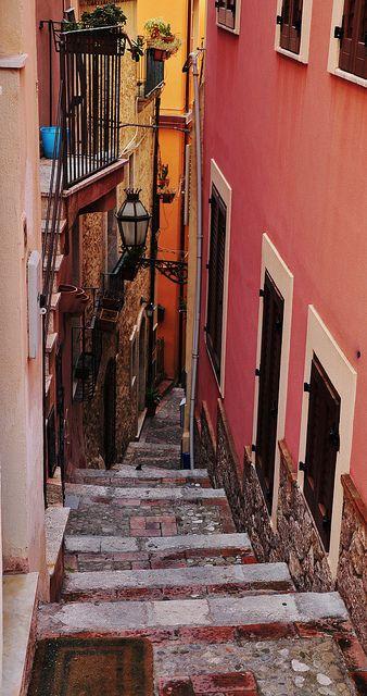 Steps to Umberto ~ Taormina, Sicily, Italy