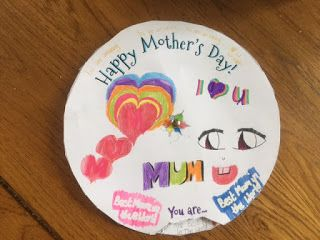 A mother's day spinning wheel from my beautiful big girl #blogging