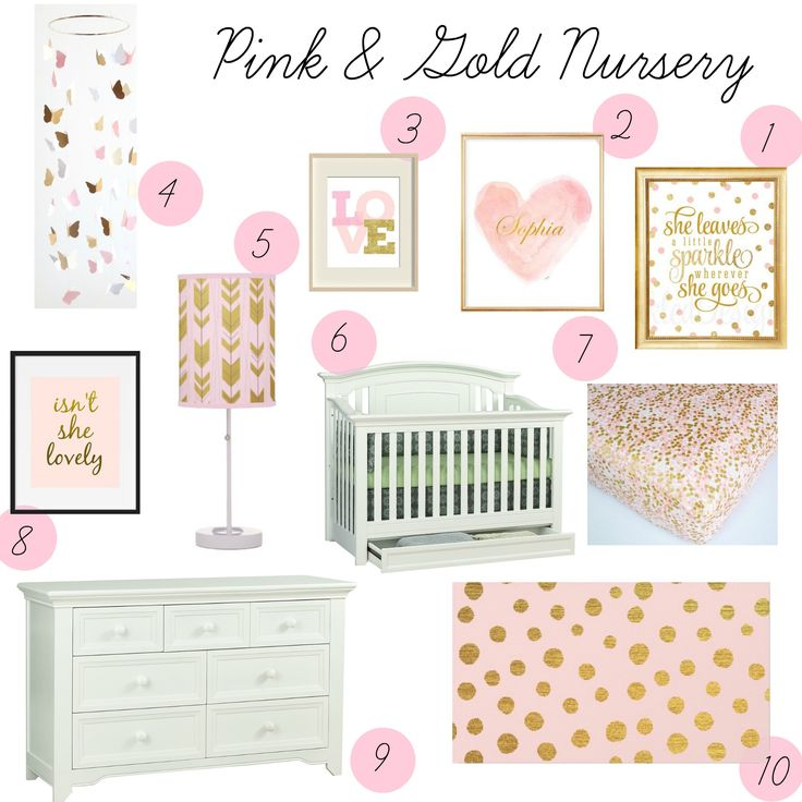 25 Best Ideas About Pink Gold Nursery On Pinterest Gray Gold Bedroom Room Color Design And