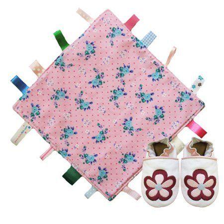 Dotty Fish rosa Blumendecke Steppdecke & weiß-rosa Blumen weiche Leder Babyschuhe Geschenkset. Mädchen 0-6 Monate Dotty Fish, http://www.amazon.de/dp/B00E6PH1RU/ref=cm_sw_r_pi_dp_vJCdsb1V07KS8