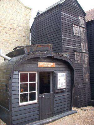 fishing huts, Hastings
