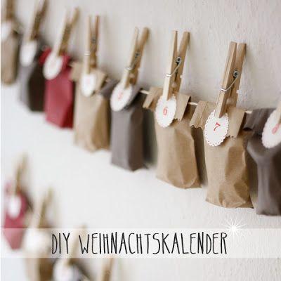 aentschie's Blog: DIY Weihnachtskalender