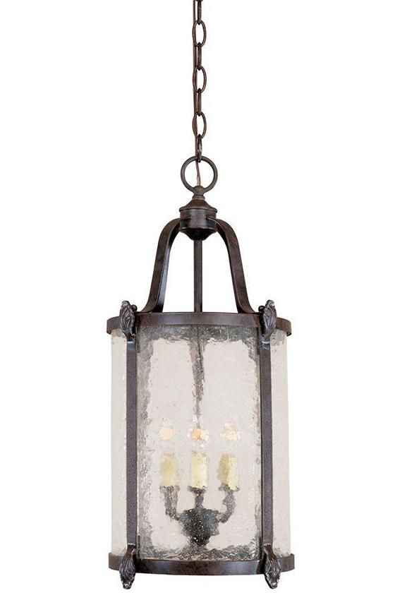 Old Sturbridge Indoor-Outdoor Hanging Lantern - Outdoor Lanterns -  Outdoor Hanging Lantern -   Outdoor Lights -  Patio Lights -  Deck Lighting -  Hanging Lanterns | HomeDecorators.com