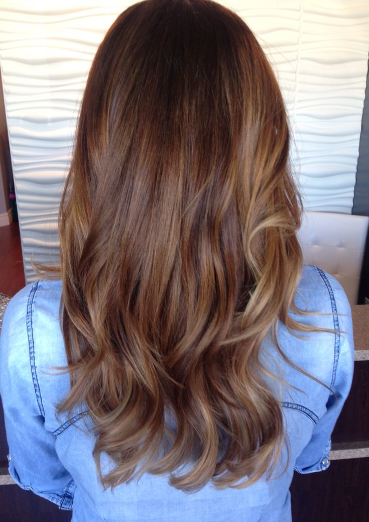Balayage On Medium Brown Hair Balayage Brown