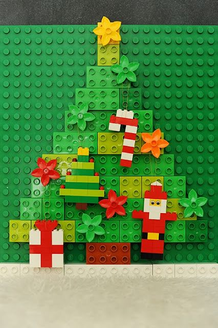 Rust & Sunshine: 12 Days of Christmas / Day 10: LEGO Ornaments