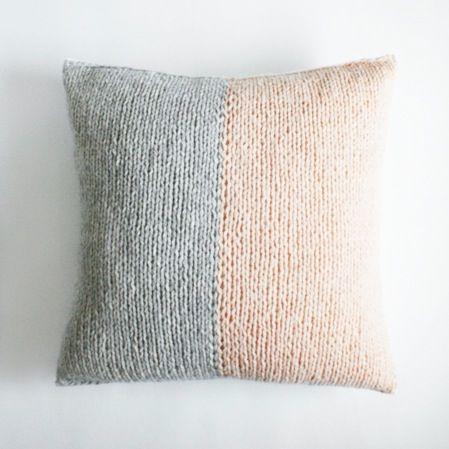 Image of smoke & blush cushion cover