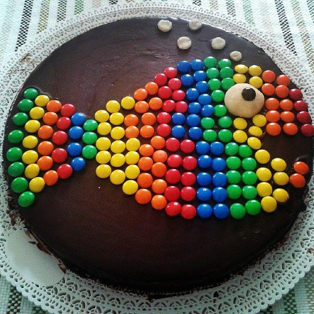 torta primo aprile smarties