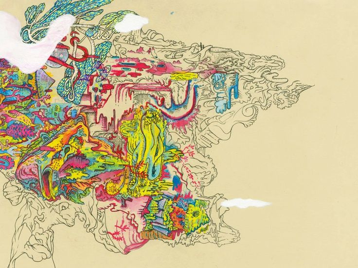 The Curious Color Weaved Lands And Human Studies Of Chris Fowler | Beautiful/Decay Artist & Design