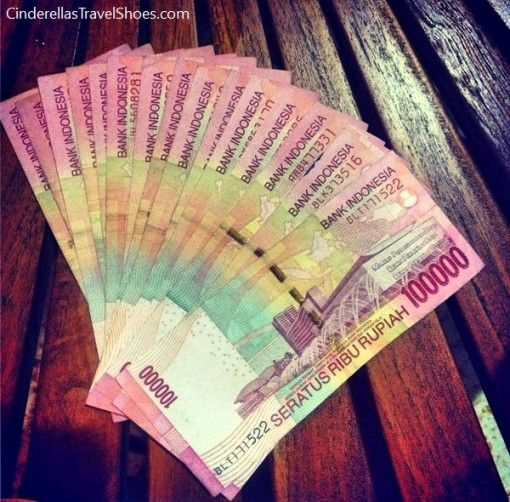 Being a millionare in Indonesia