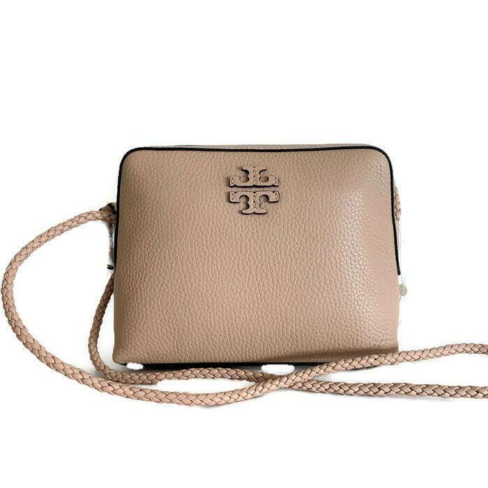 cf9be61f2 Tory Burch Taylor Crossbody ~ Devon Sand Leather Camera Bag ~ New NWT   ToryBurch  MessengerCrossBody