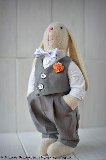 Блог Вешняковой Марины: Зайцы - молодожены.