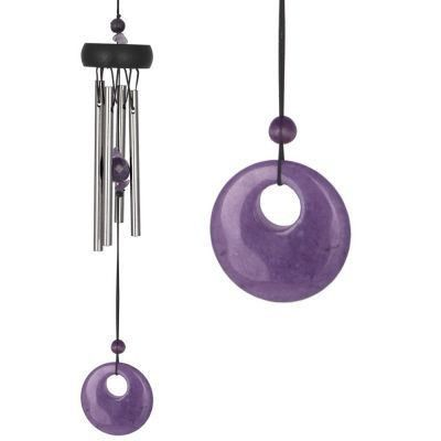 Amethyst Wind Chime From Woodstock: http://www.incensearomatherapy.co.uk/collections/wind-chimes-mobiles-hangers/products/amethyst-wind-chime-from-woodstock