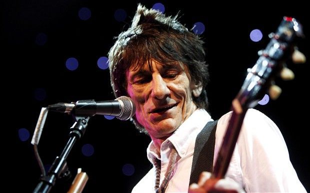 Rolling Stones' Ronnie Wood to be father to twins, age 68 | Todd Hancock