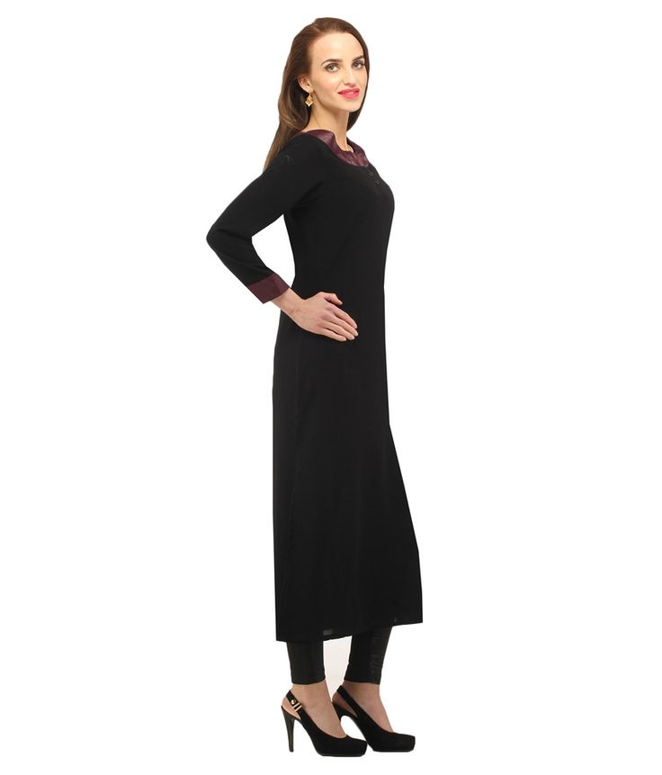 Cottinfab Women's Woven Kurti