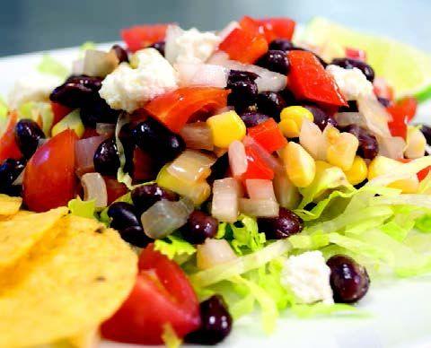 Black Bean Fiesta Salad
