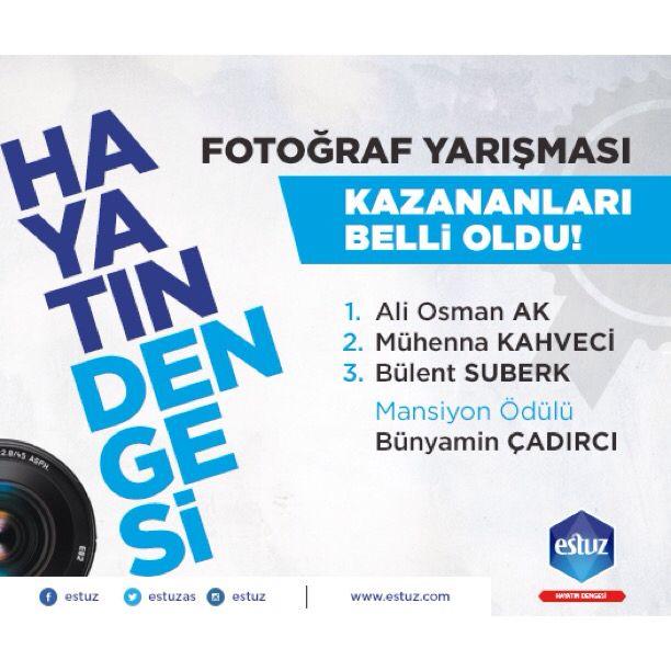 """""""HAYATIN DENGESİ"""" Fotoğraf Yarışmasının sonuçları belli oldu...  Yarışmamıza katılan herkese teşekkür ederiz... #hayatındengesi #fotoğraf #yarışması #sonuçları #belli #oldu #kazanları #tebrik #ederiz..."""