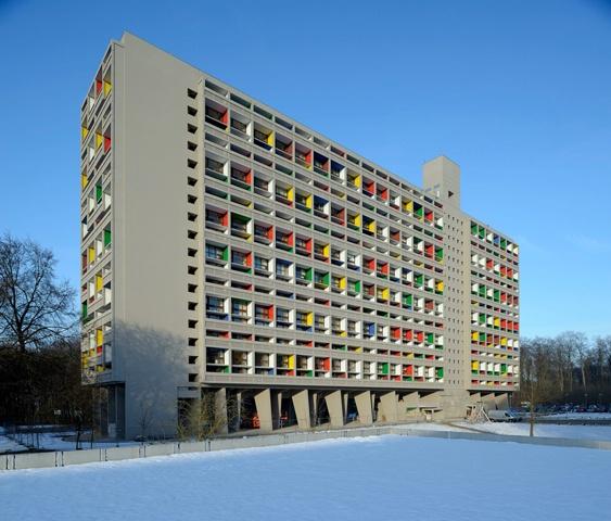 Cité radieuse de Briey_Crédit photo_Pascal Volpez copyright Fondation Le Corbusier