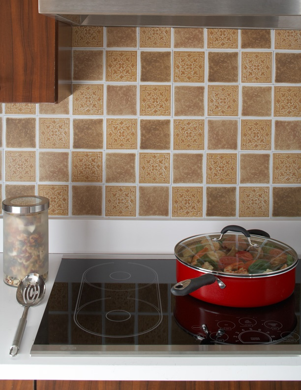 Best 20 Vinyl tile backsplash ideas on Pinterest Easy kitchen