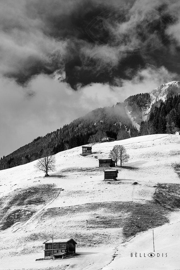 https://flic.kr/p/SSMTxT | 170136  Winter Alpine landscape