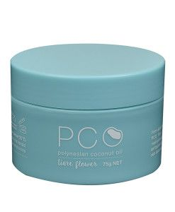 PCO Face + Hair + Body Balm – Tiare flowers, known as the Tahitian gardenia, possesses a rich, creamy, sweet perfume, its exotic aroma symbolises the spirit of Polynesia.