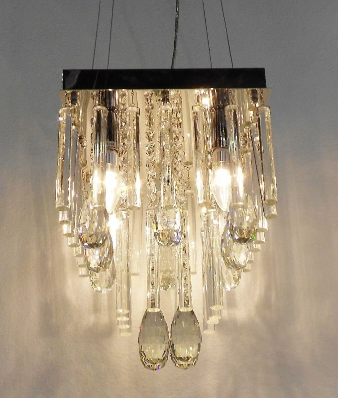 Square Lead Crystal Chandelier Available At All Isabelina S Www Co