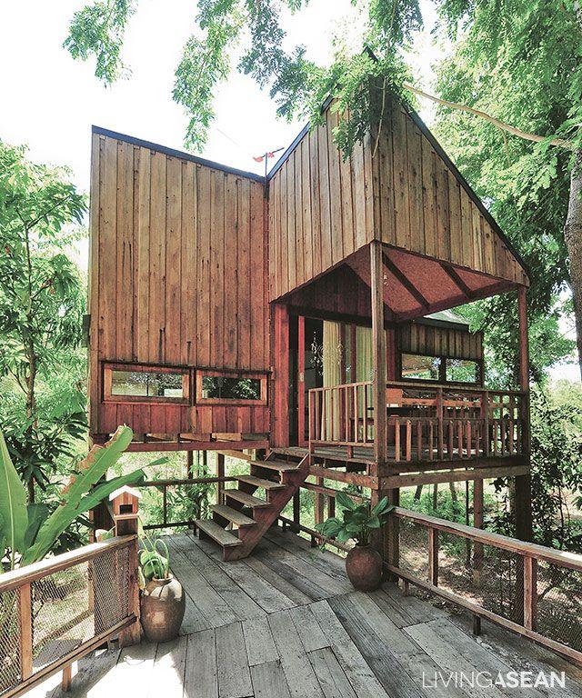 5 Wooden Stilt Houses You Will Love Wooden Stilt House In Thailand House On Stilts Tropical House Design Tropical Houses