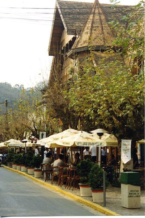 Charmosos restaurantes e bares do centro de Campos do Jordão, São Paulo. #Brasil #Viagem                                                                                                                                                      Mais