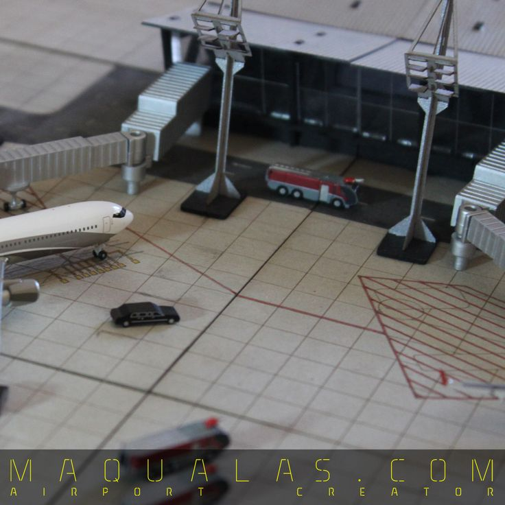 MAQUALAS AIRPORT CREATOR Mas info: www.maqualas.com