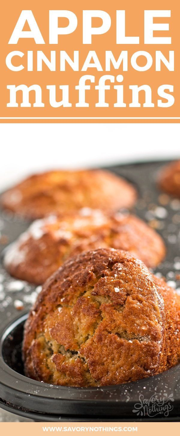 kids with this easy homemade fall treat. These Apple Cinnamon Muffins ...