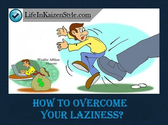 how to stop being lazy and workout