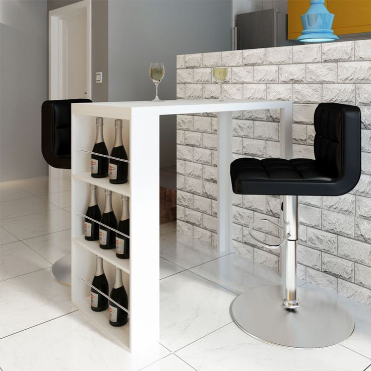 High Gas Pipe Breakfast Bar Kitchen Table Reclaimed: 1000+ Ideas About Wine Shelves On Pinterest