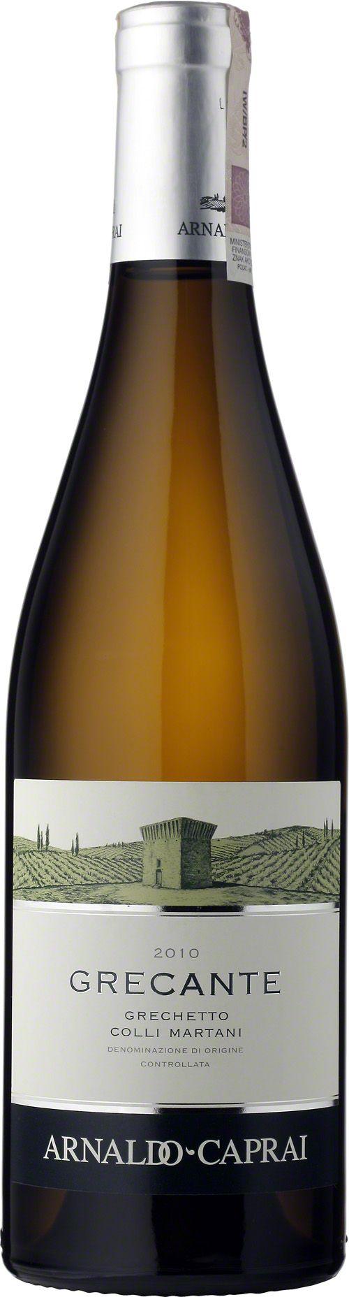 Grecante Grechetto Colli Martani D.O.C Wino o intensywnym słomkowym kolorze z zielonymi zabarwieniami. W aromatach wyczuć można kwiatowe nuty oraz intensywne owoce. Miękki, dobrze wyważony smak oraz przyjemne owocowe nuty. Grecante idealnie sprawdzi się jako imponujący aperitif i jako doskonały akompaniament do np. owoców morza. #Grecante #Grechetto #Colli #Martani #ArnaldoCaprai #Włochy #Umbria #Wino #Winezja