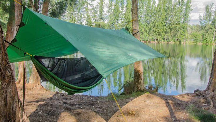 Apex Camping Shelter is a portable, lightweight tarp that protects you and your gear from the elements