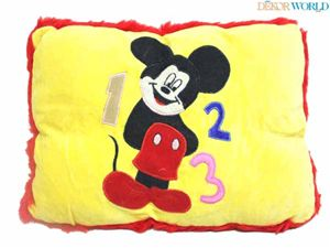 Yellow mickey mouse #pillow.