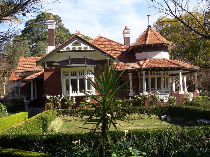 Federation Queen Anne Style, Burwood Appian Way, NSW.