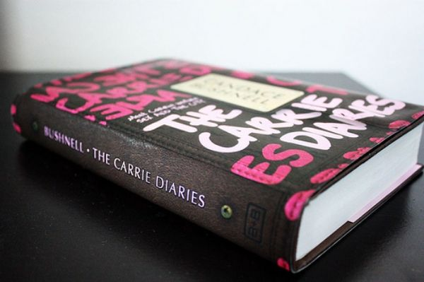 the carrie diares {TV vs. book}.