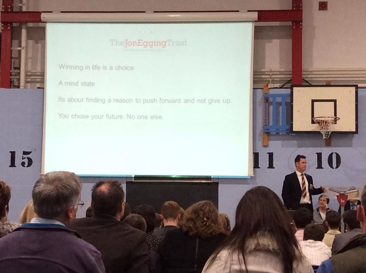 Dereham Neatherd High School This evening we were delighted to welcome back so many of our Class of 2016 for their GCSE certificates and other awards. Simon Taylor distinguished veteran from the British Army's Light Dragoons and youth worker was this year's keynote speaker.