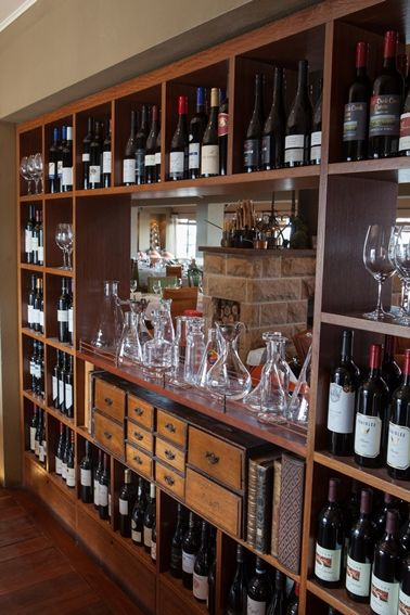 Our Decanter Collection in the Library #Donovans