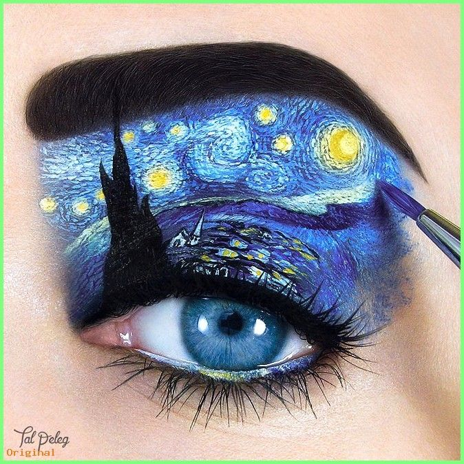 50 Make Up Tal Peleg Is A Makeup Artist From Israel Who Creates Stunning And Unique Eye Ma Eye Makeup Art Artistry Makeup Disney Eye Makeup