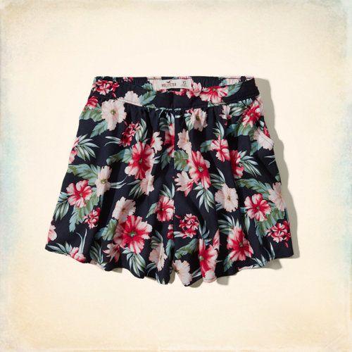 Bellflower High Rise Culotte Shorts