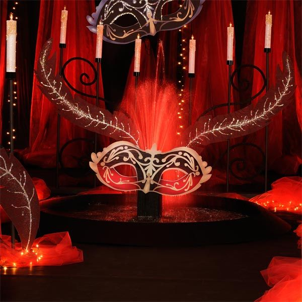 17 Best Images About Masquerade Wedding Decor On Pinterest