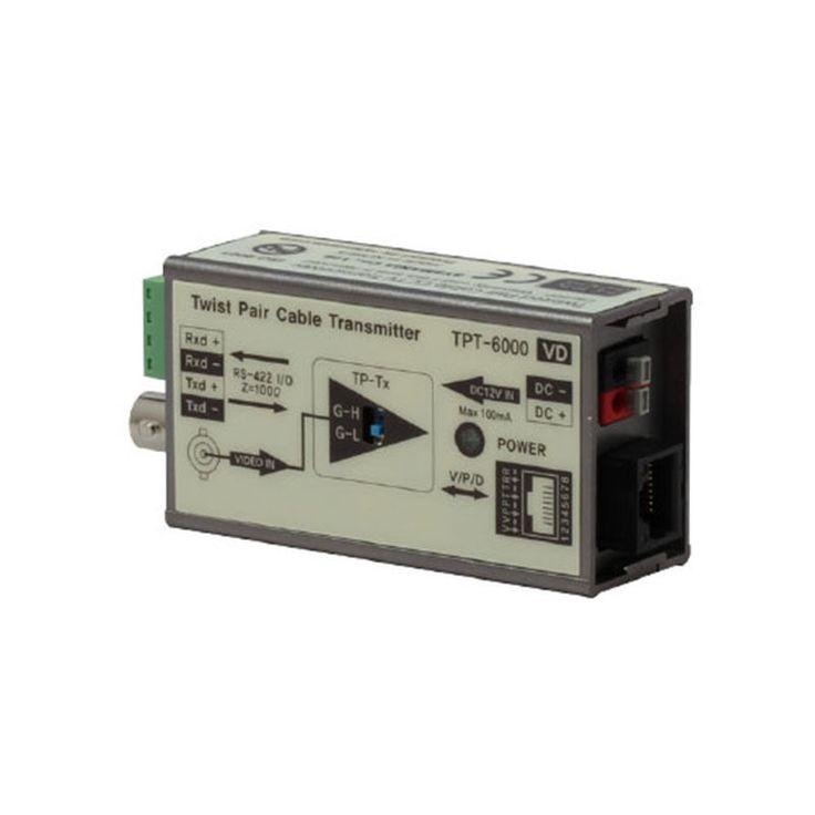 Sysmania Allimex UTP Transceiver TPT-6000VD 1 Channel Video+Data Transceiver New #SysmaniaAllimex