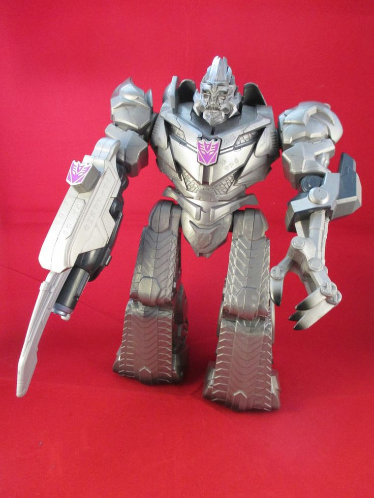 "Transformers Movie Decepticon Megatron Lights & Sounds 10"" Action Figure Toy 09"