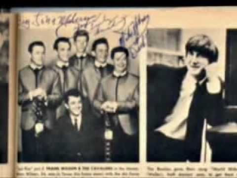 Last Kiss by J.Frank Wilson and The Cavaliers 1964 - The Cavaliers formed around 1955 with leader and guitarist Sid Holmes, bassist Lewis Elliott, saxophonist Rob Zeller, drummer Ray Smith and vocalist Alton Baird. Baird was drafted shortly after the group formed and the band brought in J. Frank Wilson, after his discharge from Goodfellow Air Force Base (San Angelo, Texas) and Sid Holmes subsequent mental deterioration in 1962