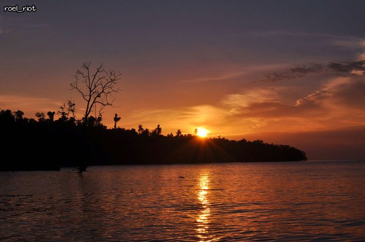 Sunrise in Raja Ampat