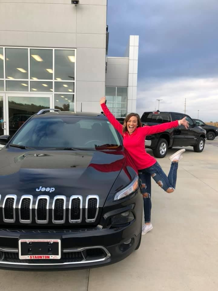 Congratulations And Happy Birthday To Bella Sander Have Fun In Your Jeep Cherokee Drive Safe And Thank You From Cloide And Jeep Chrysler Dodge Jeep Chrysler
