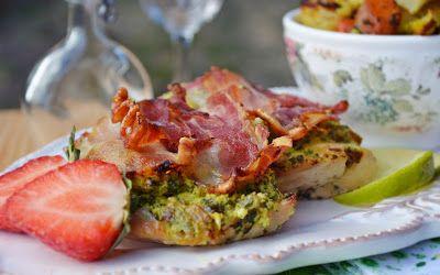 Troll a konyhámban: Csirkemell spenótos tojáskrémmel és szalonnával sü...