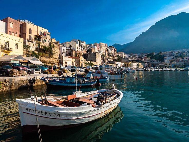 イタリア シチリア島 トラパニ港
