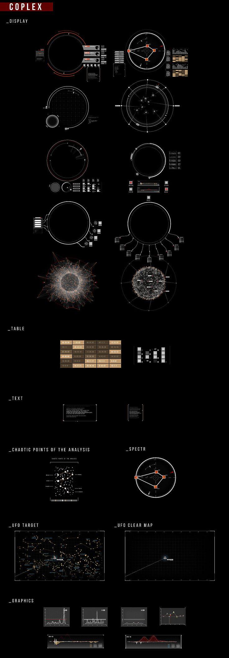 HUD Planet & Star on Behance