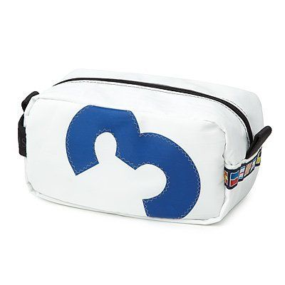 Sailcloth Toiletry Bag . $65.00. Retired sailcloth doesn't need to go down with the ship when it can be reused to make these sporting pouches. Inspired by her days spent as first mate on a classic America's Cup winner, Ella Vickers keeps yacht sails afloat by re-stitching scraps into sophisticated, zippered travel bags. Years of racing sailboats all over the world and repairing yacht canvas gave her expert knowledge about her marine-grade components and how to turn th...